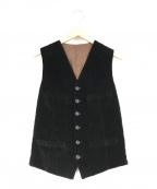 UMIT BENAN(ウミットベナン)の古着「コーデュロイジレ」|ブラウン