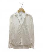 Frank&Eileen(フランクアンドアイリーン)の古着「コットンシャツ」 ホワイト