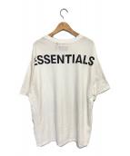 ()の古着「バックプリントオーバーサイズTシャツ」|ホワイト