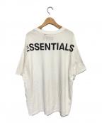 FOG ESSENTIALS(フィアオブゴッド エッセンシャル)の古着「バックプリントオーバーサイズTシャツ」|ホワイト
