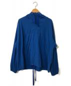 ()の古着「2ウェイリップストップミルスモック」|ブルー