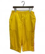 COMME des GARCONS SHIRT BOY(コムデギャルソンシャツ ボーイ)の古着「nylon taffetas att nylon mesh」 イエロー