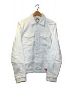 ()の古着「デニムジャケット」|ホワイト