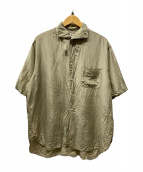 ()の古着「半袖シャツ」|ベージュ