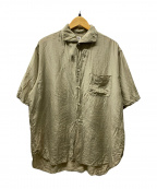 KAPTAIN SUNSHINE(キャプテンサンシャイン)の古着「半袖シャツ」|ベージュ
