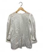 DRESSTERIOR(ドレステリア)の古着「タックスリーブブラウス」|ホワイト