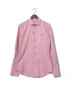 Vivienne Westwood man(ヴィヴィアン ウェストウッド マン)の古着「ストライプシャツ」|ピンク