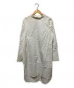 Whim Gazette(ウィムガゼット)の古着「ロングシャツ」 ホワイト