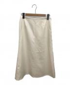 MUSE de Deuxieme Classe(ミューズ ドゥーズィエム クラス)の古着「フレアスカート」|アイボリー