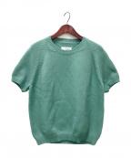 Maison Margiela 14(メゾンマルジェラ14)の古着「ショートスリーブニット」 グリーン