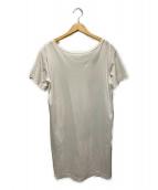 ()の古着「ロングカットソー」|ホワイト