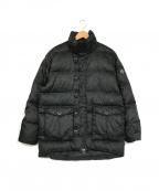 DESCENTE(デサント)の古着「ダウンジャケット」 ブラック