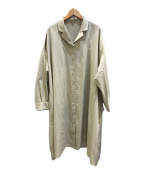 RIM.ARK(リムアーク)の古着「Relax shirt gown」|ベージュ
