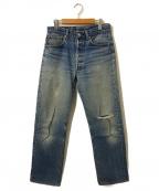LEVI'S(リーバイス)の古着「[古着]ヴィンテージデニムパンツ」|ブルー