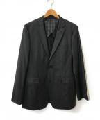 BURBERRY BLACK LABEL(バーバリーブラックレーベル)の古着「2Bジャケット」 グレー