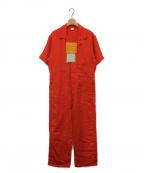 MAISON EUREKA(メゾン エウレカ)の古着「クールリネンS/Sジャンプスーツ」|マンダリン