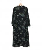 CLANE(クラネ)の古着「ブルームフラワーワンピース」|ブラック