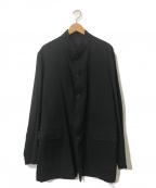 Y's for men(ワイズフォーメン)の古着「オールドバンドカラージャケット」|ブラック