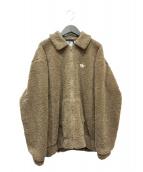 ()の古着「フリースジャケット」 ブラウン