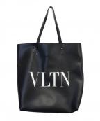 VALENTINO(ヴァレンティノ)の古着「VLTNトートバッグ」 ブラック