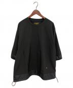 Comfy Outdoor Garment(コンフィーアウトドアガーメンツ)の古着「21SS GRAVEL H/S TEE」|ブラック