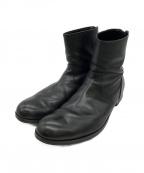PADRONE(パドローネ)の古着「バックジップアップブーツ」 ブラック