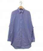 L'appartement(アパルトモン)の古着「Oversize tunicシャツ」|ブルー