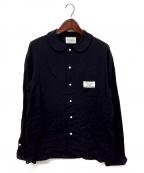 Black Weirdos(ブラック ウィドゥ)の古着「ワークシャツ」|ネイビー