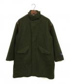 Black Weirdos(ブラック ウィドゥ)の古着「Taping Layered Coat」|オリーブ