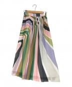 Diagram(ダイアグラム)の古着「ストライププリントスカート」