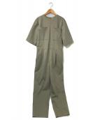 ()の古着「ニューワンダー ジャンプスーツ 5分袖」|カーキ