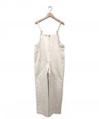 RIVE DROITE(リヴドロウ)の古着「カツラギストレッチサロペット」 アイボリー