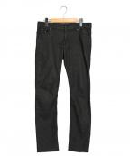 Yves Saint Laurent(イヴサンローラン)の古着「スキニーデニムパンツ」 ブラック