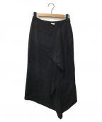 RITO(リト)の古着「スカーフジャガードスカート」 ブラック