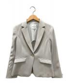 ()の古着「2WAYダブルクロステーラードジャケット」|ベージュ