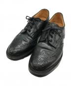 Tricker's(トリッカーズ)の古着「カントリーシューズ」 ブラック