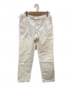 LORO PIANA(ロロピアーナ)の古着「ストレートパンツ」 ホワイト