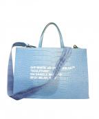 OFFWHITE(オフホワイト)の古着「2WAYバッグ」 ブルー