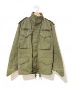 VINTAGE MILITARY(ヴィンテージ ミリタリー)の古着「[古着]80'sM65フィールドジャケット」 グリーン