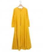MARIHA(マリハ)の古着「星影のドレス」|ゴールデンイエロー