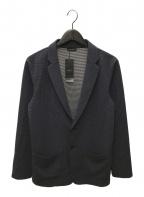 JOSEPH HOMME(ジョゼフ オム)の古着「リップルジオメトリックジャケット」 ネイビー