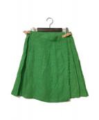 ()の古着「リネンラップスカート」
