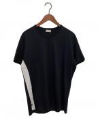 DIOR HOMME(ディオール オム)の古着「切替BEE刺繍Tシャツ」 ブラック