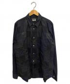 COMME des GARCONS Homme Plus(コムデギャルソン オムプリュス)の古着「パッチワークシャツ」 ブラック