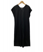 ()の古着「ハイゲージコンパクトジャージーワンピース」|ブラック