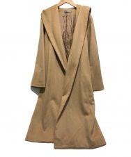 theory luxe (セオリーリュクス) カシミヤブレンドフーデッドコート キャメル サイズ:38