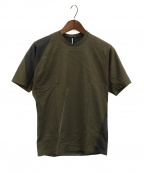 ripvanwinkle(リップヴァンウィンクル)の古着「TORNADO-T/半袖カットソー」|カーキ