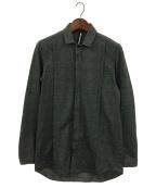 ripvanwinkle(リップヴァンウィンクル)の古着「チェックシャツ」|グレー