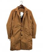 ripvanwinkle(リップヴァンウィンクル)の古着「シンサレート&テフロン撥水加工テックコート」|キャメル
