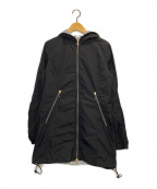 DUVETICA(デュベティカ)の古着「フーデッドジャケット」|ブラック